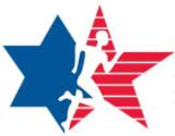 Maccabi run logo